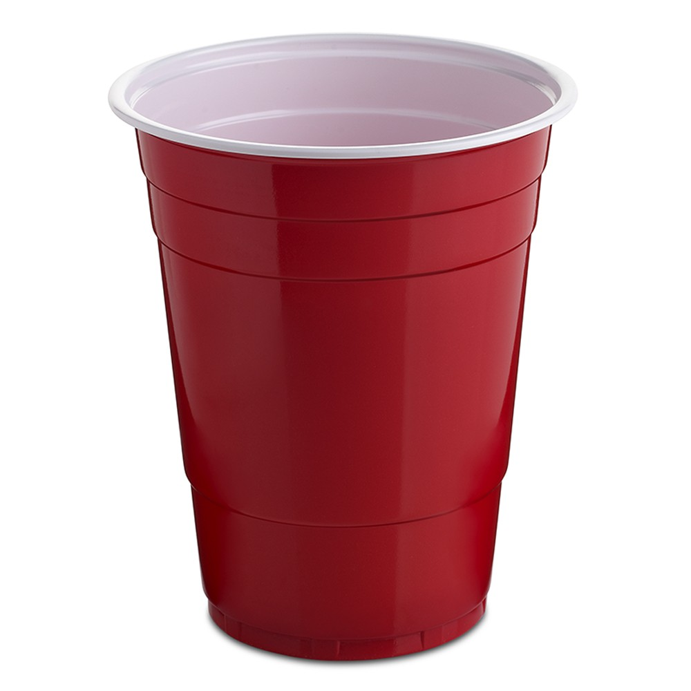 Party Cup Bicolour Red And White Ps 550 0 4 L