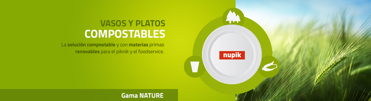 Plates and Cups 100% Biodegradable
